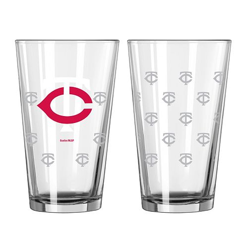 Minnesota Twins 2-pc. Pint Glass Set