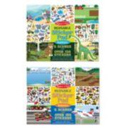 Melissa & Doug Vehicles & Habitats Reusable Sticker Pad Bundle