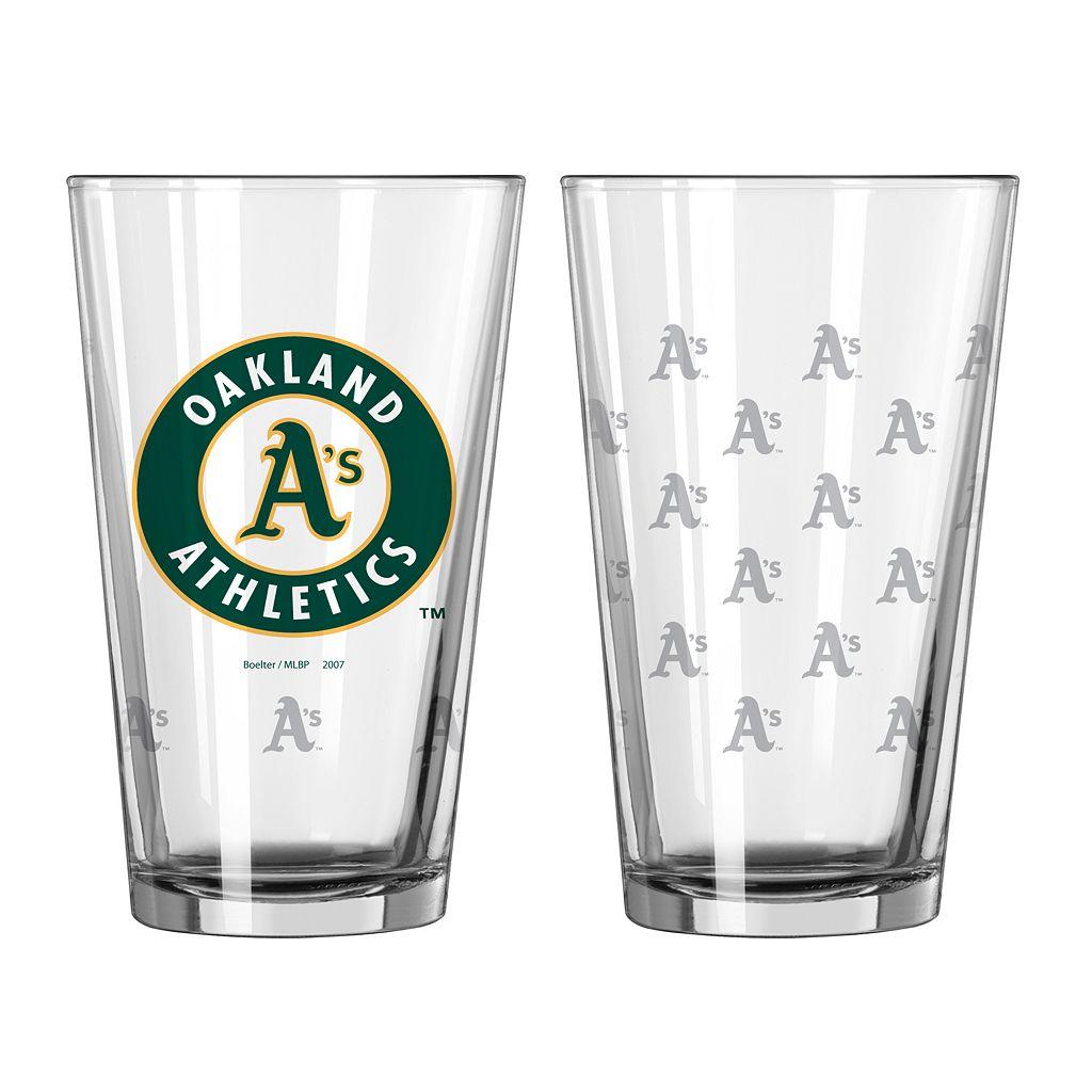 Oakland Athletics 2-pc. Pint Glass Set