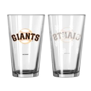 San Francisco Giants 2-pc. Pint Glass Set