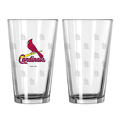 St. Louis Cardinals 2-pc. Pint Glass Set