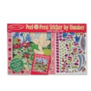 Melissa & Doug Peel & Press Sticker by Number Flower Garden Fairy
