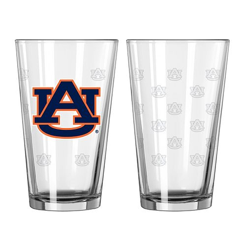 Auburn Tigers 2-pc. Pint Glass Set
