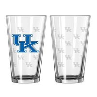 Kentucky Wildcats 2 pc Pint Glass Set