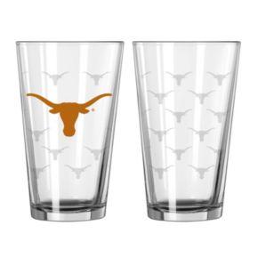 Texas Longhorns 2-Piece Pint Glass Set