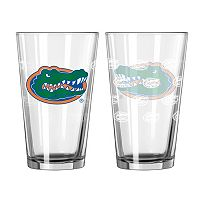 Florida Gators 2-pc. Pint Glass Set