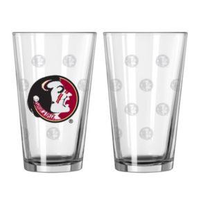 Florida State Seminoles 2-pc. Pint Glass Set