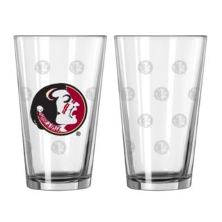 Florida State Seminoles 2-pc. Pint Glass Set