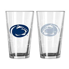Penn State Nittany Lions 2 pc Pint Glass Set