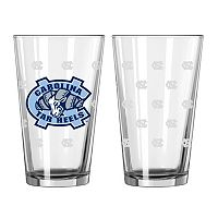 North Carolina Tar Heels 2-pc. Pint Glass Set