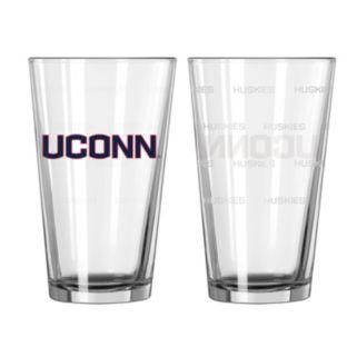 UConn Huskies 2-pc. Pint Glass Set
