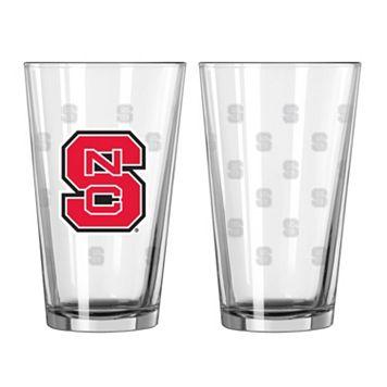 North Carolina State Wolfpack 2-pc. Pint Glass Set
