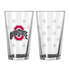 Ohio State Buckeyes 2-pc. Pint Glass Set