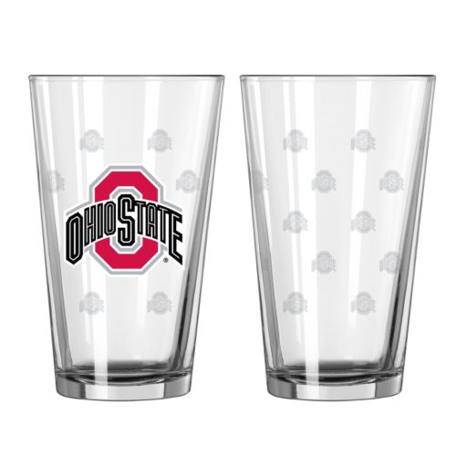 Ohio State Buckeyes 2-pc. Pint Glass Set