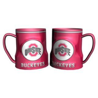 Ohio State Buckeyes 2-pc. Ceramic Mug Set