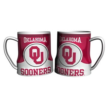 Oklahoma Sooners 2-pc. Ceramic Mug Set