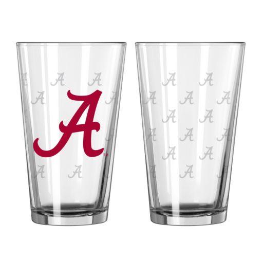 Alabama Crimson Tide 2-pc. Pint Glass Set