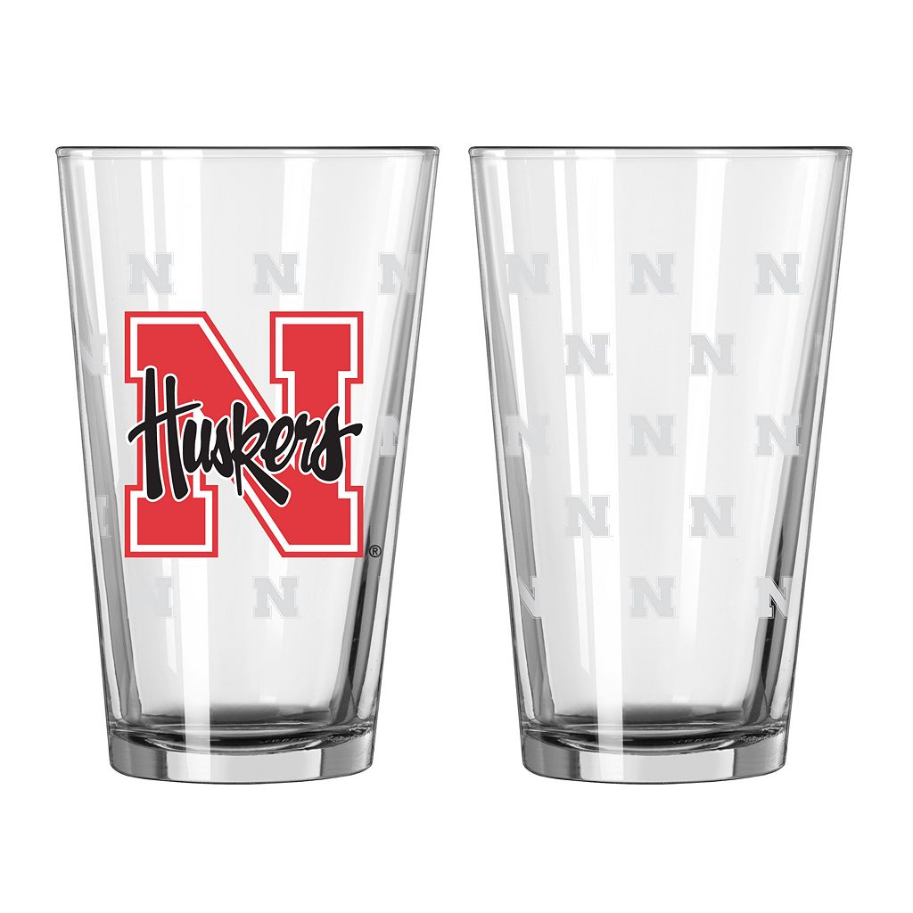 Nebraska Cornhuskers 2-pc. Pint Glass Set