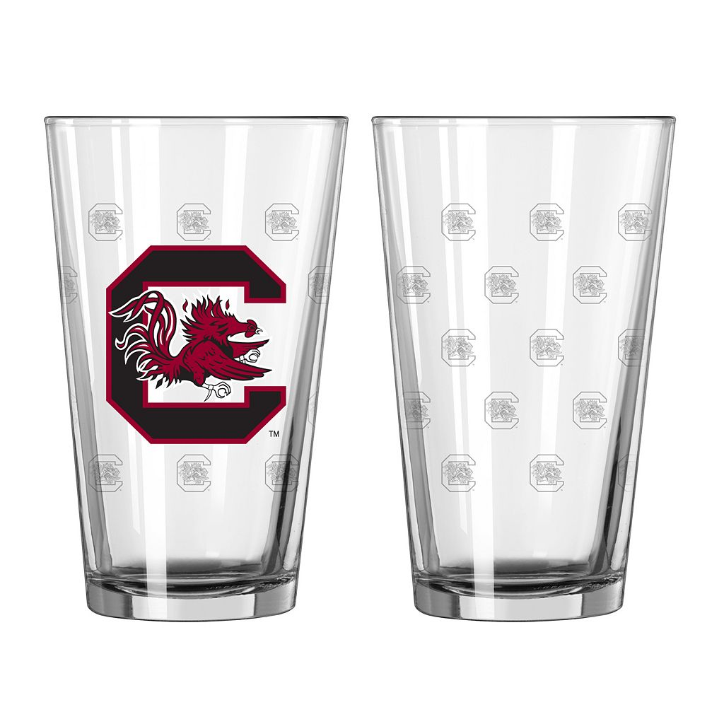 South Carolina Gamecocks 2-Piece Pint Glass Set