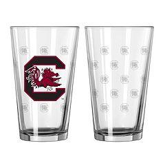 South Carolina Gamecocks 2-Piece Pint Glass Set