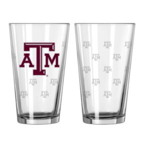Texas AandM Aggies 2-pc. Pint Glass Set