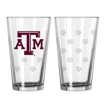 Texas A&M Aggies 2-pc. Pint Glass Set