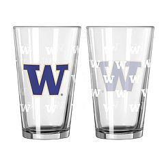 Washington Huskies 2-pc. Pint Glass Set