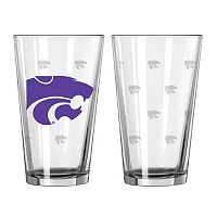 Kansas State Wildcats 2-pc. Pint Glass Set