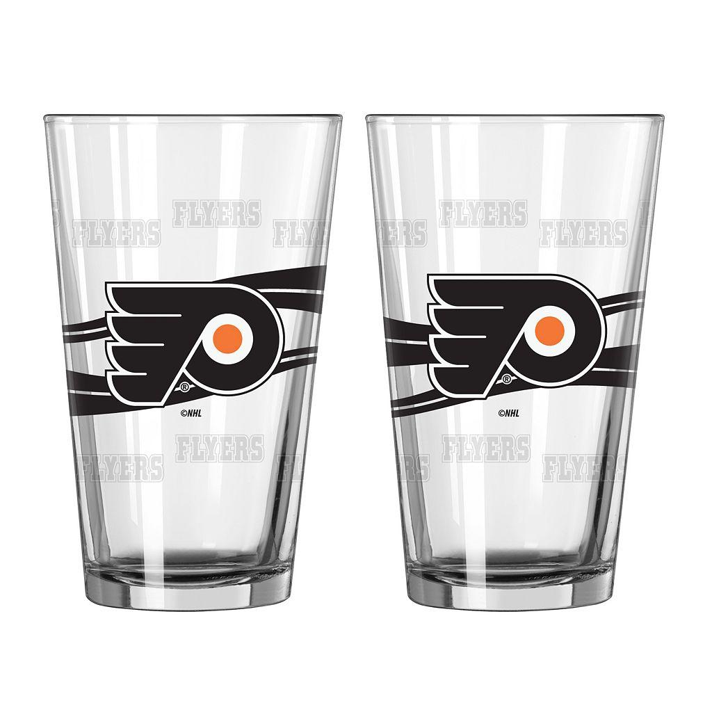 Philadelphia Flyers 2-pc. Pint Glass Set
