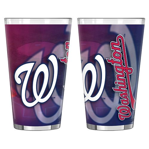 Washington Nationals 2-pc. Pint Glass Set