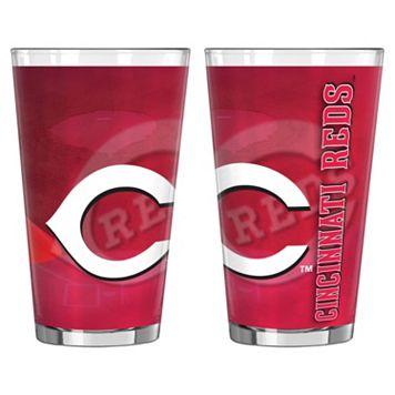 Cincinnati Reds 2-pc. Pint Glass Set