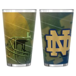 Notre Dame Fighting Irish 2-pc. Pint Glass Set