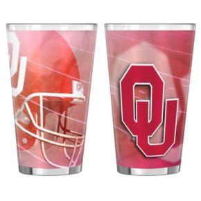 Oklahoma Sooners 2-pc. Pint Glass Set