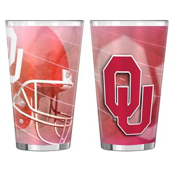 Oklahoma Sooners 2-pc. Pint Glass Set