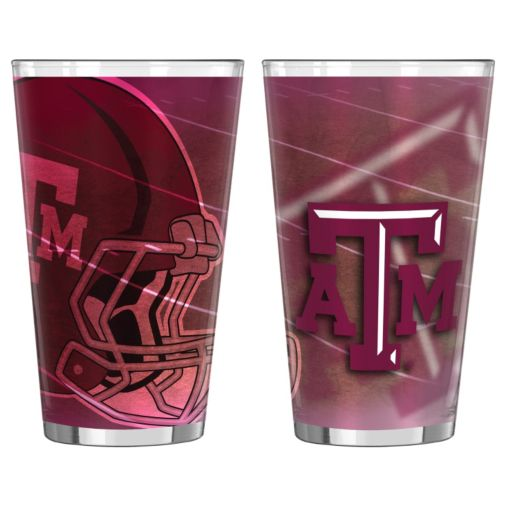 Texas AandM Aggies 2-pc. Pint Glass Set