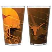 Texas Longhorns 2 pc Pint Glass Set