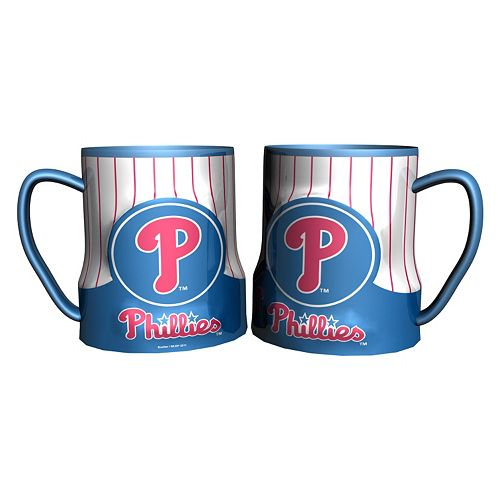 Philadelphia Phillies 2-pc. Ceramic Mug Set