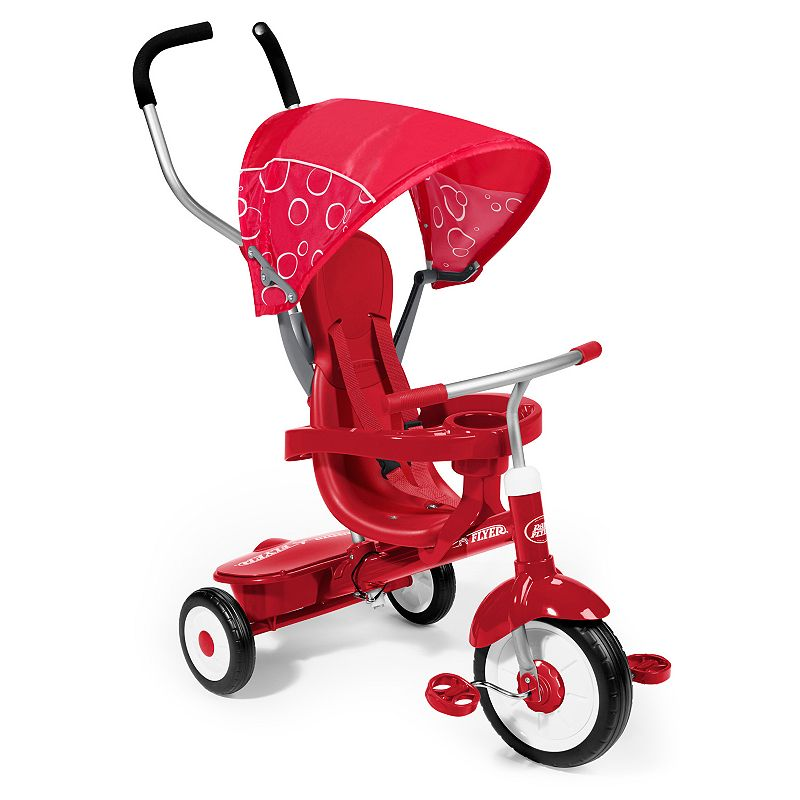 Radio Flyer 4-in-1 Ultimate Grow-With-Me Tricycle, Red