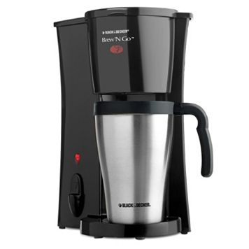 Black & Decker Brew 'N Go Coffee Maker