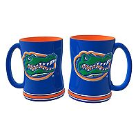 Florida Gators 2 pc Relief Coffee Mug Set