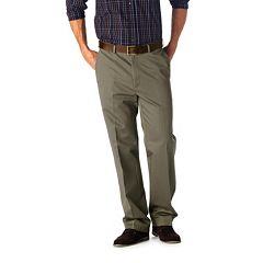Men's Haggar® Work to Weekend® Straight-Fit Flat-Front Pants