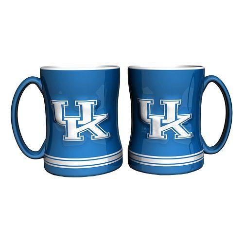 Kentucky Wildcats 2-pc. Relief Coffee Mug Set