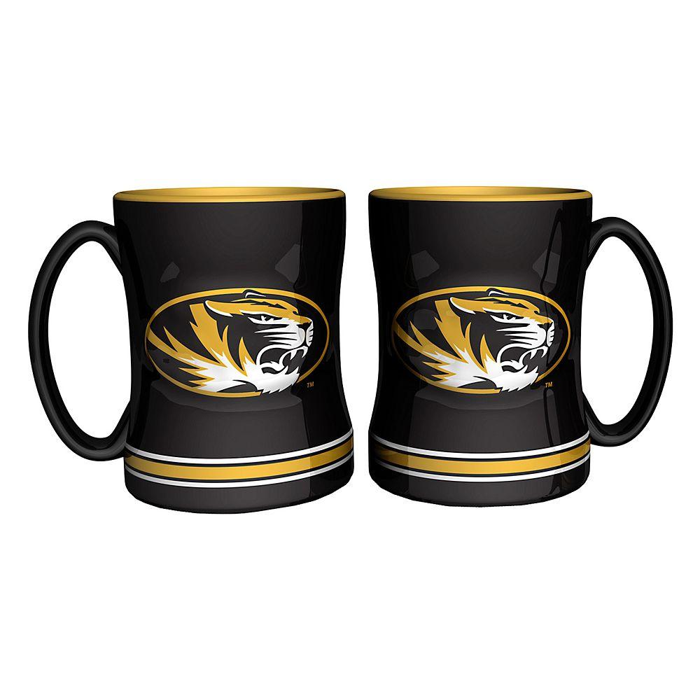 Missouri Tigers 2-pc. Relief Coffee Mug Set