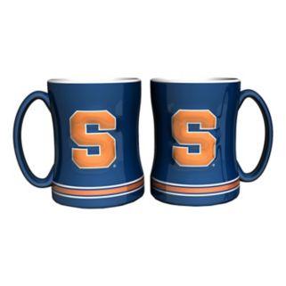 Syracuse Orange 2-pc. Relief Coffee Mug Set