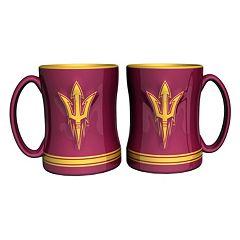 Arizona State Sun Devils 2 pc Relief Coffee Mug Set