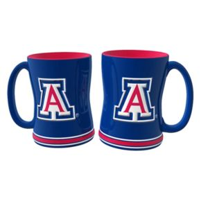 Arizona Wildcats 2-pc. Relief Coffee Mug Set