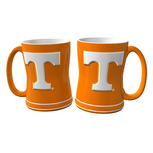 Tennessee Volunteers 2-pc. Relief Coffee Mug Set
