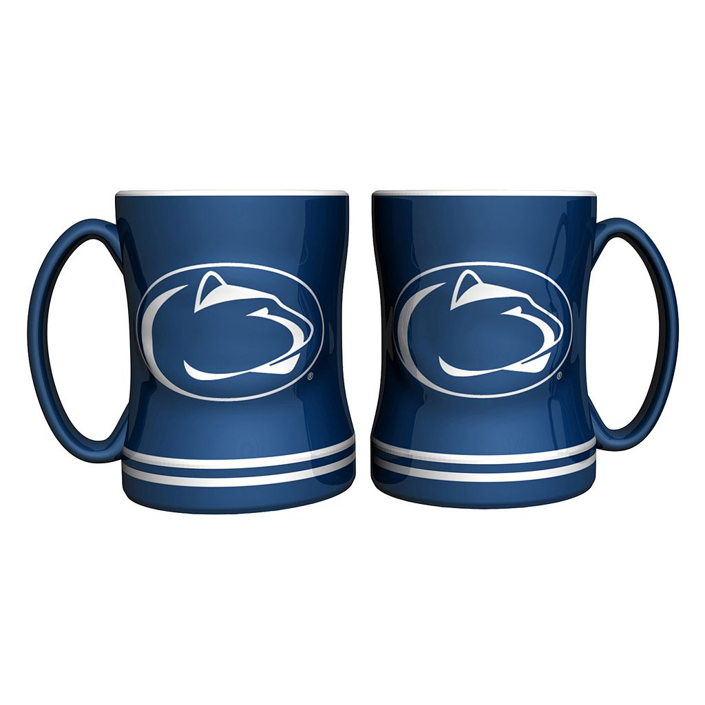 Penn State Nittany Lions 2-pc. Relief Coffee Mug Set