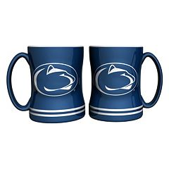 Penn State Nittany Lions 2 pc Relief Coffee Mug Set