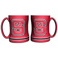 North Carolina State Wolfpack 2-pc. Relief Coffee Mug Set
